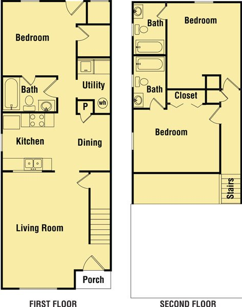 3 Bedrooms 3 Bathrooms Apartment for rent at Cedarbrook Court in Tallahassee, FL