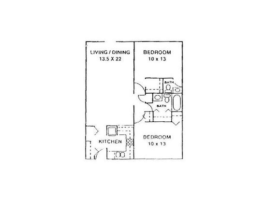 2 Bedrooms 2 Bathrooms Apartment for rent at Westwood Apartments in Knoxville, TN