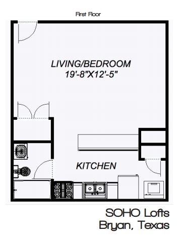 1 Bedroom 1 Bathroom Apartment for rent at 4004 Old College Rd in Bryan, TX