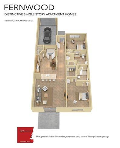 2 Bedrooms 2 Bathrooms Apartment for rent at Arbors Of Perrysburg in Perrysburg, OH