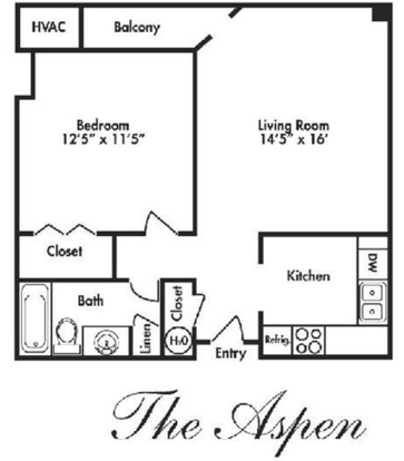 1 Bedroom 1 Bathroom Apartment for rent at Regal Oaks Luxury Apartments in Toledo, OH
