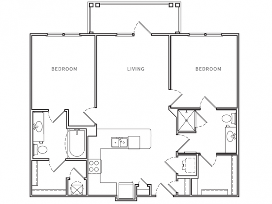 2 Bedrooms 2 Bathrooms Apartment for rent at Opus in Nashville, TN