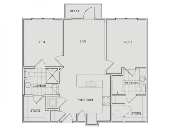 2 Bedrooms 2 Bathrooms Apartment for rent at Note 16 in Nashville, TN