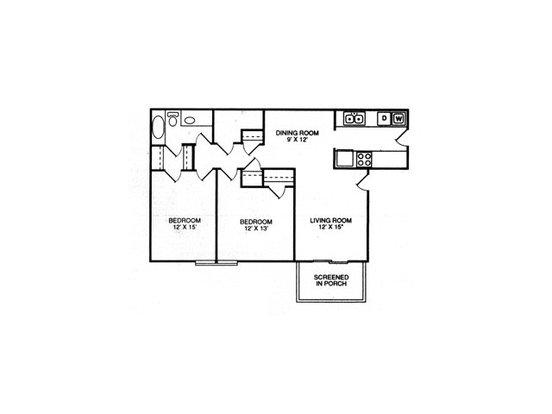 2 Bedrooms 2 Bathrooms Apartment for rent at Rainwood in Lake City, GA