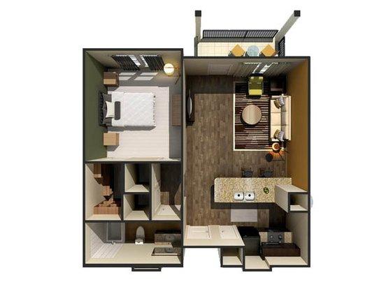 1 Bedroom 1 Bathroom Apartment for rent at Eleven North in Nashville, TN