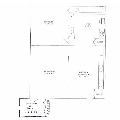 2 Bedrooms 1 Bathroom Apartment for rent at Brandon Manor Apartments in Perrysburg, OH
