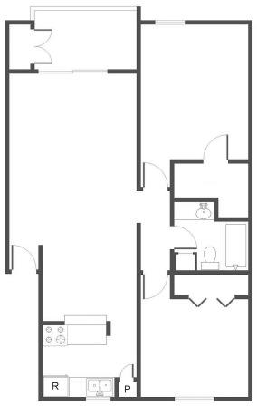 2 Bedrooms 1 Bathroom Apartment for rent at The Canopy in San Antonio, TX