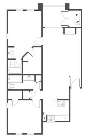 2 Bedrooms 2 Bathrooms Apartment for rent at Cielo in San Antonio, TX