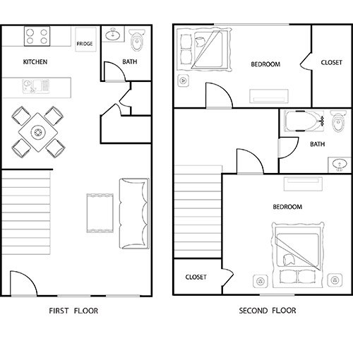 2 Bedrooms 1 Bathroom Apartment for rent at Eastgate Apartments in College Station, TX