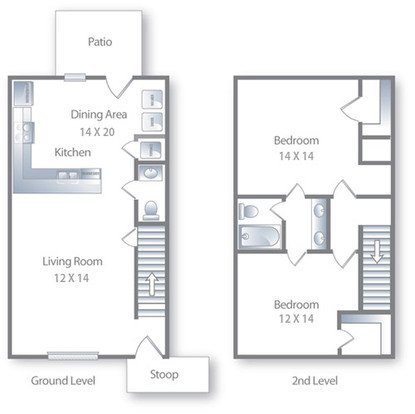 2 Bedrooms 1 Bathroom Apartment for rent at Deer Park in Athens, GA