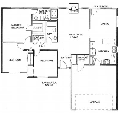 3 Bedrooms 2 Bathrooms House for rent at 705 Campusview Dr. in Columbia, MO