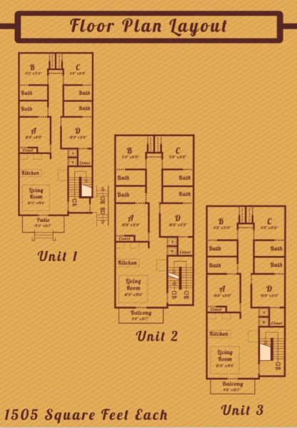 4 Bedrooms 4+ Bathrooms Apartment for rent at Eclipse On Madison in Tallahassee, FL