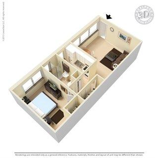 1 Bedroom 1 Bathroom Apartment for rent at The Manhattan in Oak Ridge, TN