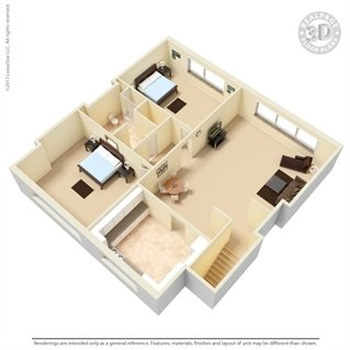 2 Bedrooms 1 Bathroom Apartment for rent at The Manhattan in Oak Ridge, TN