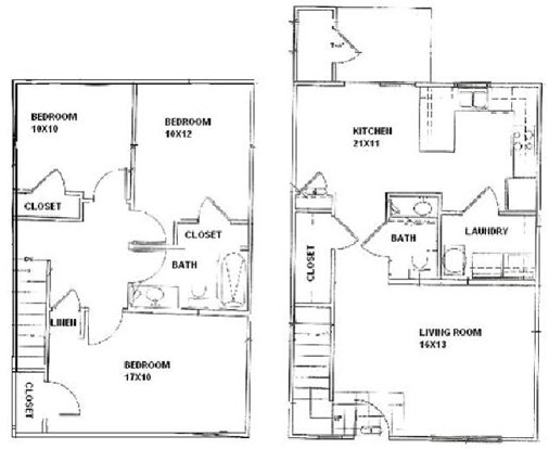 3 Bedrooms 2 Bathrooms Apartment for rent at Bentwood Townhomes in St Louis, MO