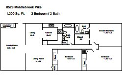 3 Bedrooms 2 Bathrooms House for rent at 8529 Middlebrook Pike in Knoxville, TN