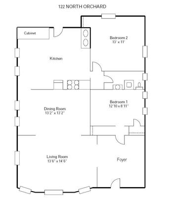2 Bedrooms 1 Bathroom Apartment for rent at 242 W 8th N in Madison, WI