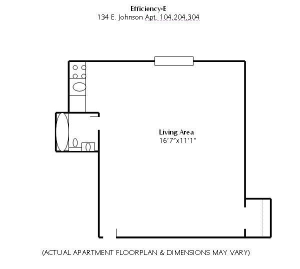 134 E Johnson Madison, WI Apartment For Rent