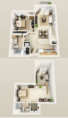 2 Bedrooms 2 Bathrooms Apartment for rent at Midtown Terrace in Madison, WI