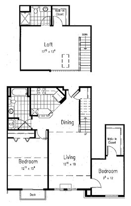 3 Bedrooms 2 Bathrooms Apartment for rent at Midtown Terrace in Madison, WI