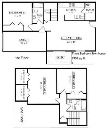 3 Bedrooms 2 Bathrooms Apartment for rent at Pondfield Apartments in Madison, WI