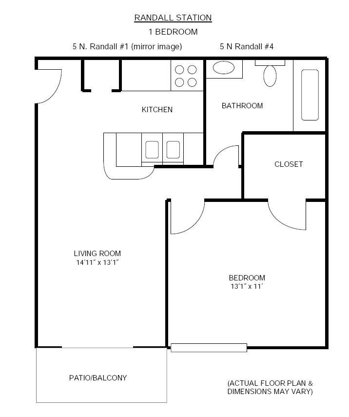 1 Bedroom 1 Bathroom Apartment for rent at Randall Station in Madison, WI