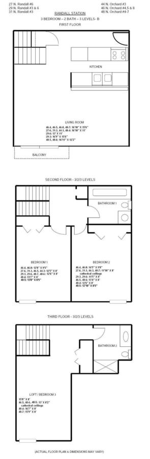 3 Bedrooms 2 Bathrooms Apartment for rent at Randall Station in Madison, WI