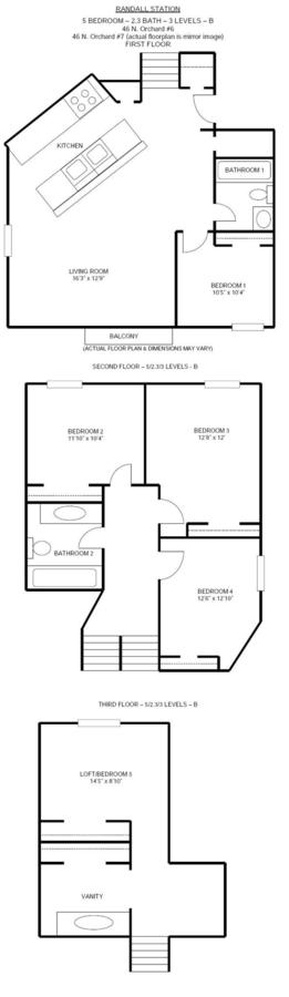 5 Bedrooms 2 Bathrooms Apartment for rent at Randall Station in Madison, WI