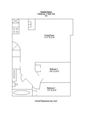 2 Bedrooms 1 Bathroom Apartment for rent at Randall Station in Madison, WI