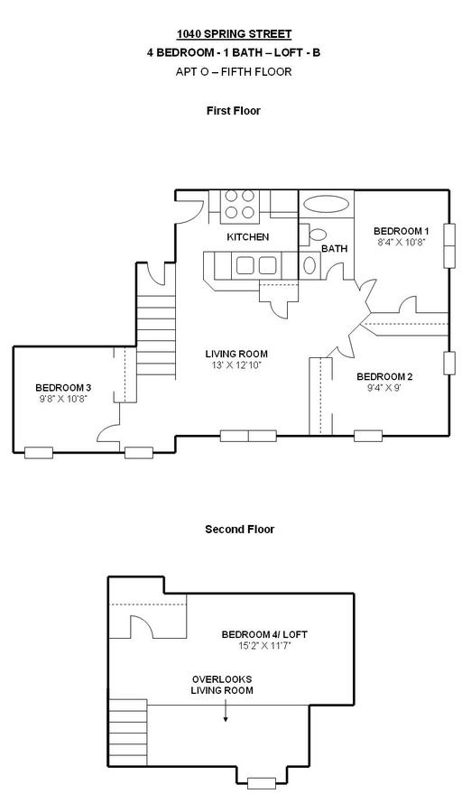 4 Bedrooms 1 Bathroom Apartment for rent at 1040 Spring St in Madison, WI