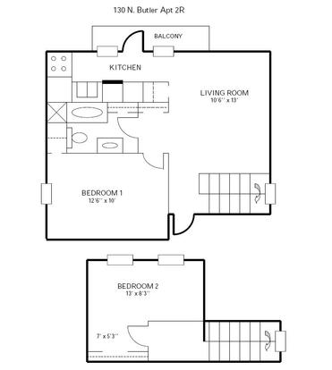 2 Bedrooms 1 Bathroom Apartment for rent at 130 N Butler in Madison, WI