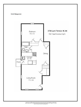 1 Bedroom 1 Bathroom Apartment for rent at 2726 Lynn Terrace in Madison, WI