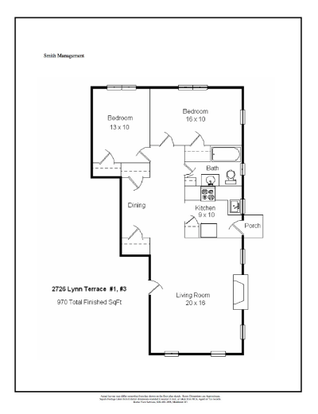 2 Bedrooms 1 Bathroom Apartment for rent at 2726 Lynn Terrace in Madison, WI