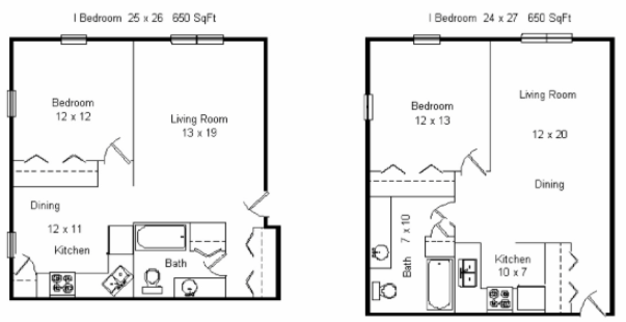 1 Bedroom 1 Bathroom Apartment for rent at 909 Brooks Street Apartments in Madison, WI