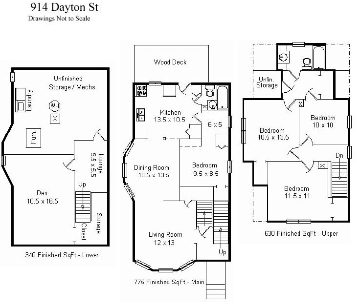 4 Bedrooms 2 Bathrooms House for rent at 914 W Dayton St in Madison, WI