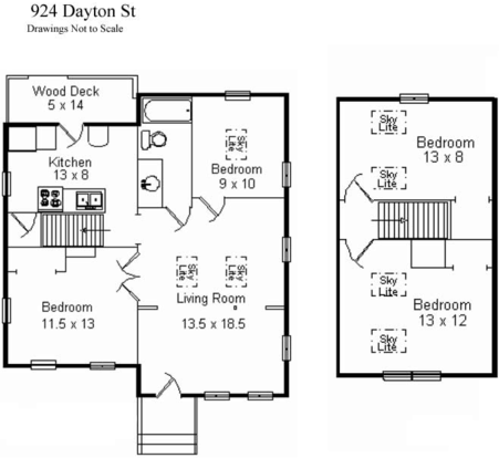 4 Bedrooms 1 Bathroom House for rent at 924 W Dayton St in Madison, WI