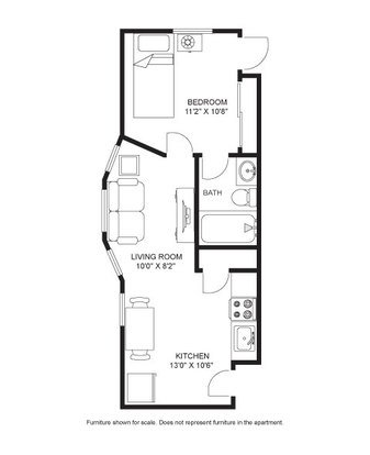 1 Bedroom 1 Bathroom Apartment for rent at Morgan House in Madison, WI