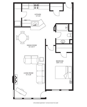 2 Bedrooms 2 Bathrooms Apartment for rent at Victory Court in Madison, WI