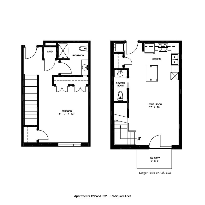 1 Bedroom 2 Bathrooms Apartment for rent at Brownlofts Apartments in Madison, WI
