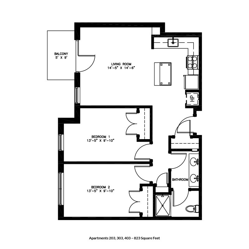 2 Bedrooms 1 Bathroom Apartment for rent at Brownlofts Apartments in Madison, WI
