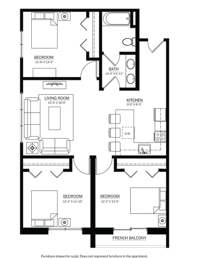 3 Bedrooms 1 Bathroom Apartment for rent at 244 On Gilman in Madison, WI