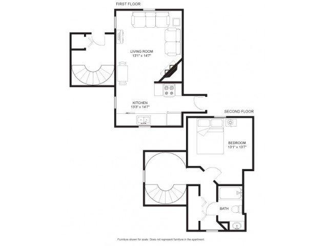 1 Bedroom 1 Bathroom House for rent at Landsdowne Court in Madison, WI