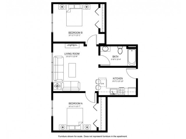 2 Bedrooms 1 Bathroom Apartment for rent at 244 On Gilman in Madison, WI