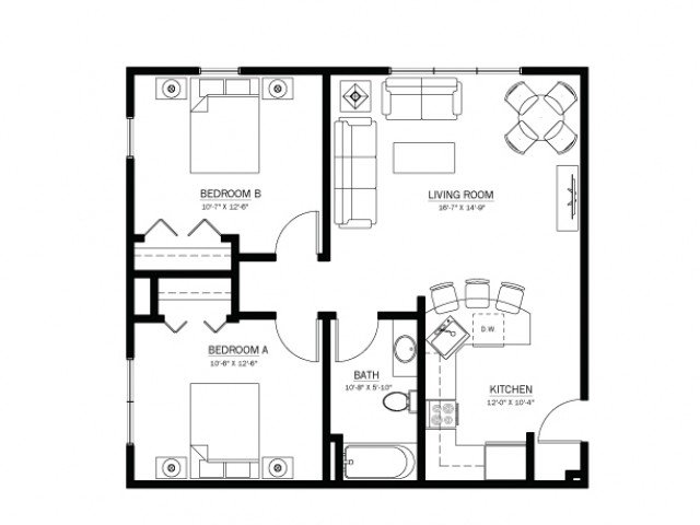 2 Bedrooms 1 Bathroom Apartment for rent at 613 Maggie Frances in Madison, WI