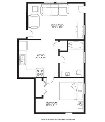 1 Bedroom 1 Bathroom Apartment for rent at Franklin Terrace in Madison, WI