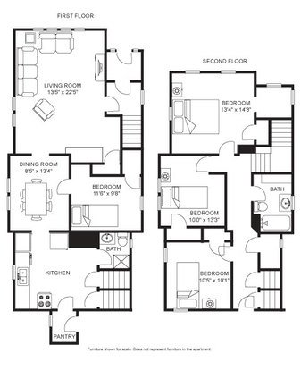 4 Bedrooms 2 Bathrooms House for rent at 123 W Gilman St in Madison, WI