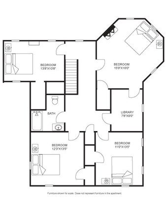 5 Bedrooms 2 Bathrooms House for rent at Hobbins House in Madison, WI
