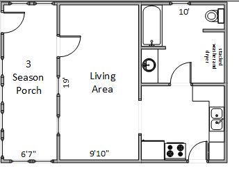 Studio 1 Bathroom House for rent at 2702 Dahle St in Madison, WI