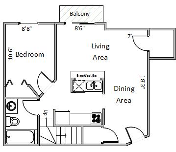 4 Bedrooms 2 Bathrooms Apartment for rent at Four Seasons in Madison, WI