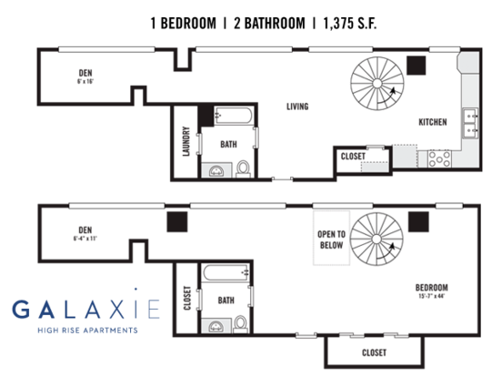 1 Bedroom 2 Bathrooms Apartment for rent at 822 E Washington Ave in Madison, WI